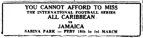 All Caribbean vs Jamaica