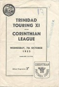 Trinidad Touring XI vs Corinthian League
