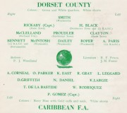 Dorset County vs. Caribean F.A.