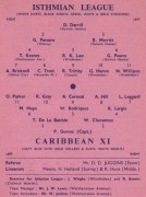 Isthmian League v. Caribbean XI
