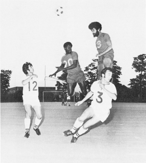 Everald Cummings with New York Cosmos