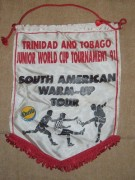 T&T U-20 Warm Up Tour Pennant