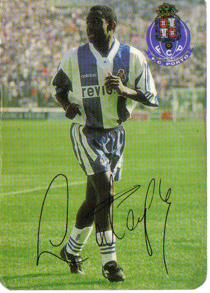 Russell Latapy with Porto FC