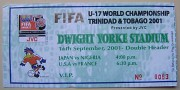 2001 U-17 World Cup ticket